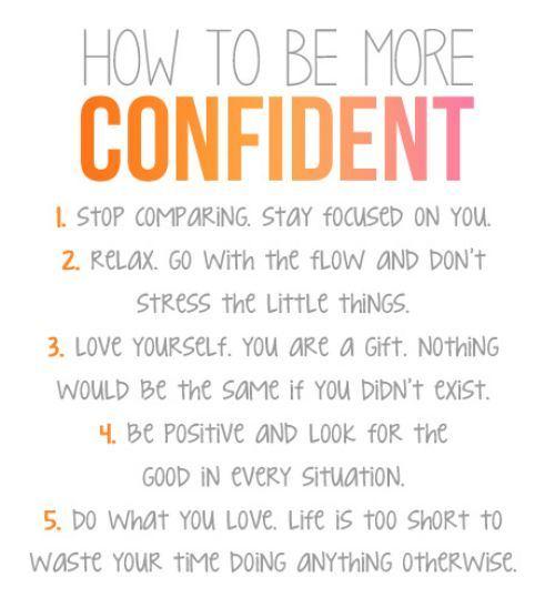 Confident noun
